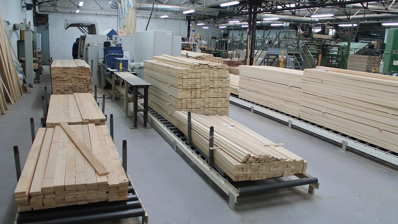Matières premières bois