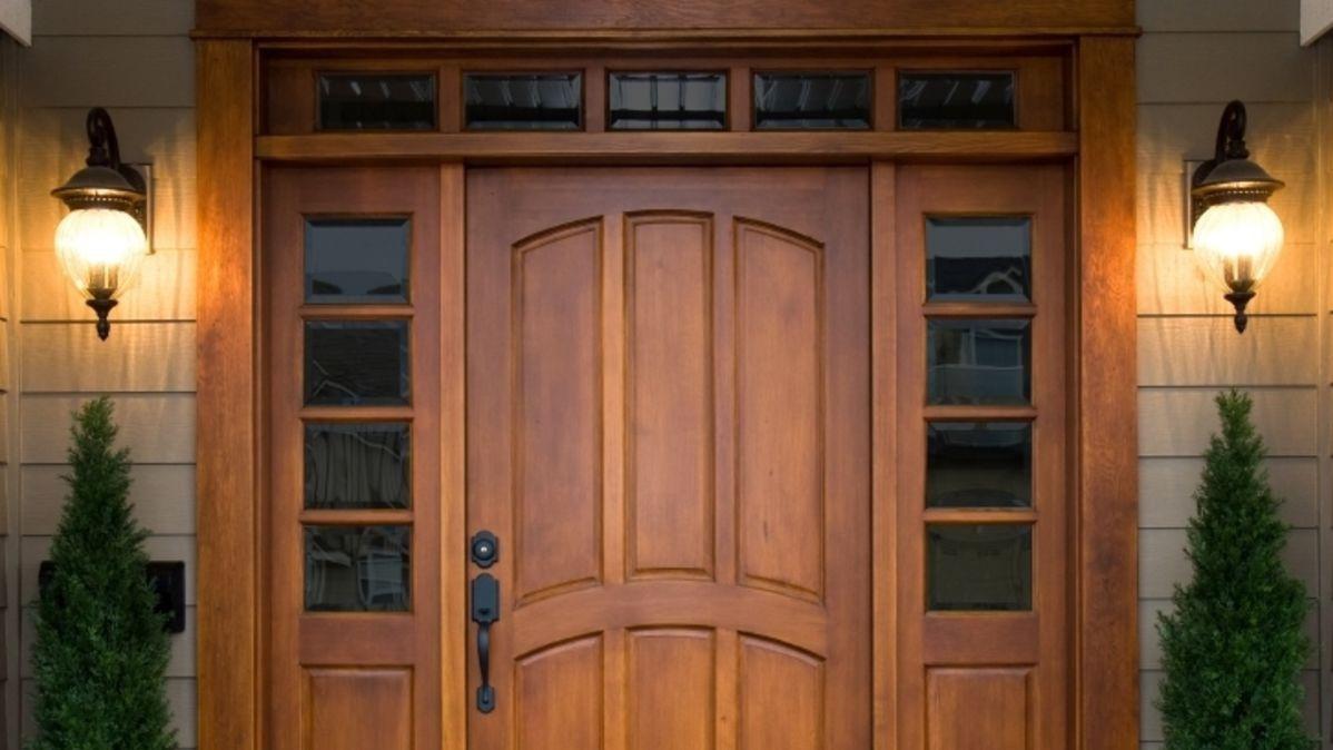 Wooden doors and windows